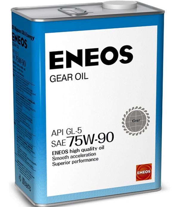 ENEOS Gear GL-5 75W-90, 4л