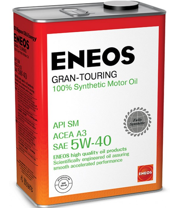 ENEOS Gran Touring 5W-40, 4л