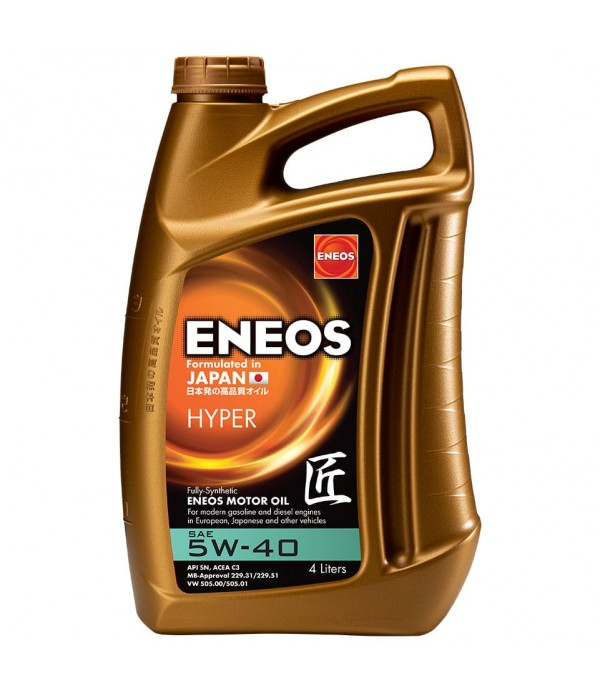 ENEOS HYPER 5W-40, 4л