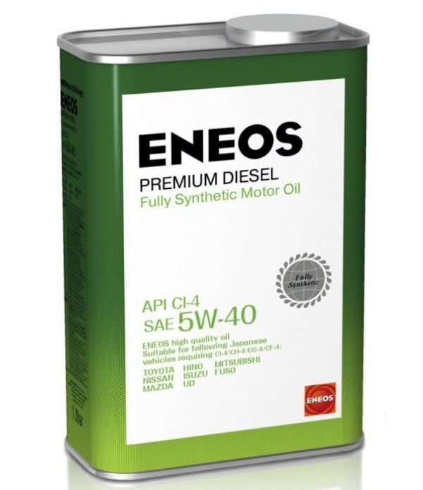ENEOS PREMIUM DIESEL CI-4 5W-40, 1л