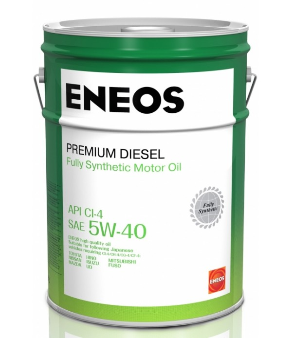 ENEOS PREMIUM DIESEL CI-4 5W-40, 4л