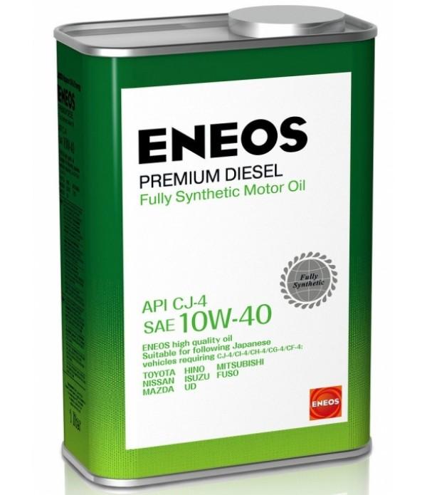 ENEOS PREMIUM DIESEL CJ-4 10W-40, 1л