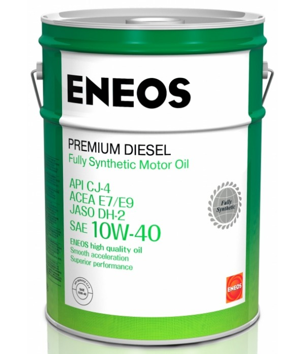ENEOS PREMIUM DIESEL CJ-4 10W-40, 20л
