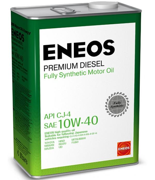 ENEOS PREMIUM DIESEL CJ-4 10W-40, 4л