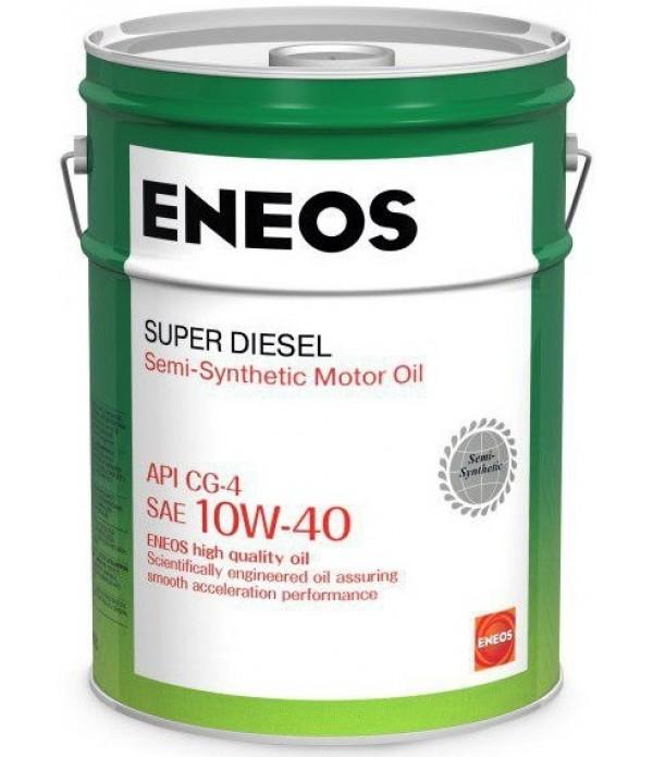 ENEOS SUPER DIESEL CG-4 10W-40, 20л