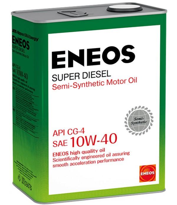 ENEOS SUPER DIESEL CG-4 10W-40, 4л
