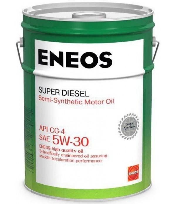 ENEOS SUPER DIESEL CG-4 5W-30, 20л