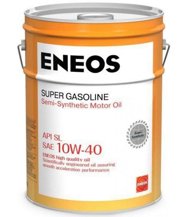 ENEOS SUPER GASOLINE SL 10W-40, 20л