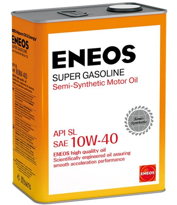 ENEOS SUPER GASOLINE SL 10W-40, 4л