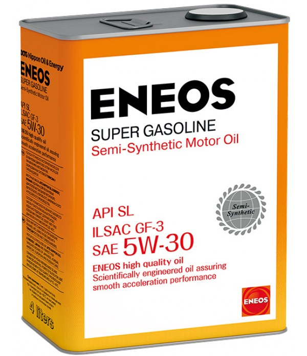 ENEOS SUPER GASOLINE SL 5W-30, 4л