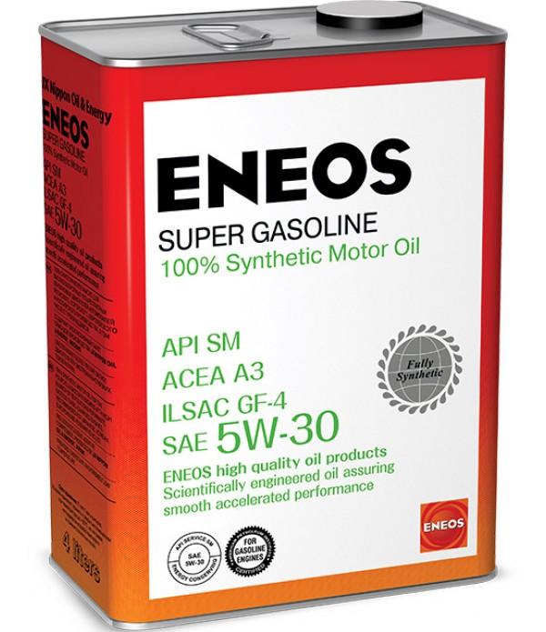 ENEOS SUPER GASOLINE SM 5W-30, 4л